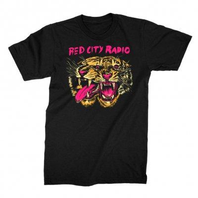 red-city-radio - SkyTigers Tee (Black)