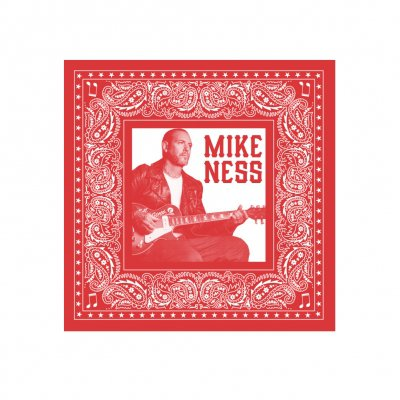 mike-ness - Guitar Bandana (Red)