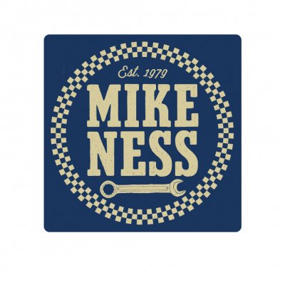 mike-ness - Logo Shop Rag