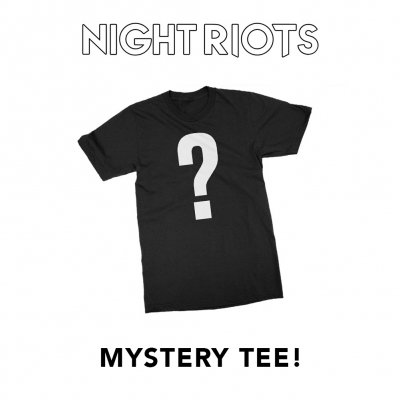 night-riots - Mystery Tee (Black)