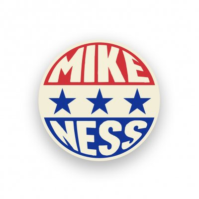 mike-ness - Presidential Enamel Pin