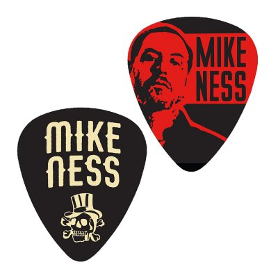 mike-ness - Collectors Guitar Pick Pack