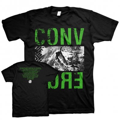 converge - Murk & Marrow Tee (Dark Green/Black)