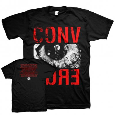 converge - Eye Of The Quarrel Tee (Red/Black)