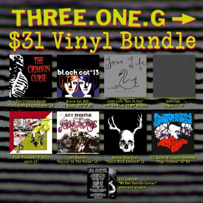 three-one-g - $31 Vinyl Bundle