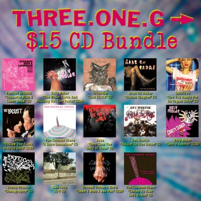 three-one-g - $15 CD Bundle