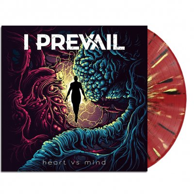 i-prevail - Heart vs. Mind LP (Oxblood Splatter)