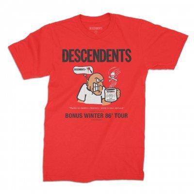 descendents - Bonus Cup '86 Tour Tee (Red)