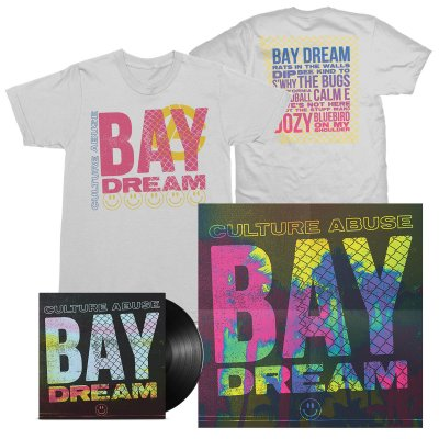 Culture Abuse - Bay Dream LP (Black) + Bay Dream Tee (White) Bundle