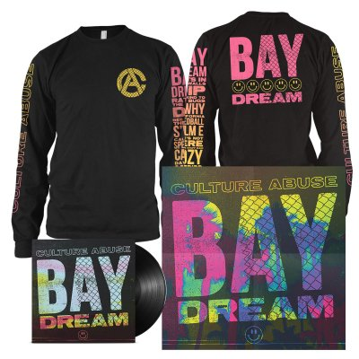 epitaph-records - Bay Dream LP (Black) + Bay Dream Long Sleeve (Black) Bundle