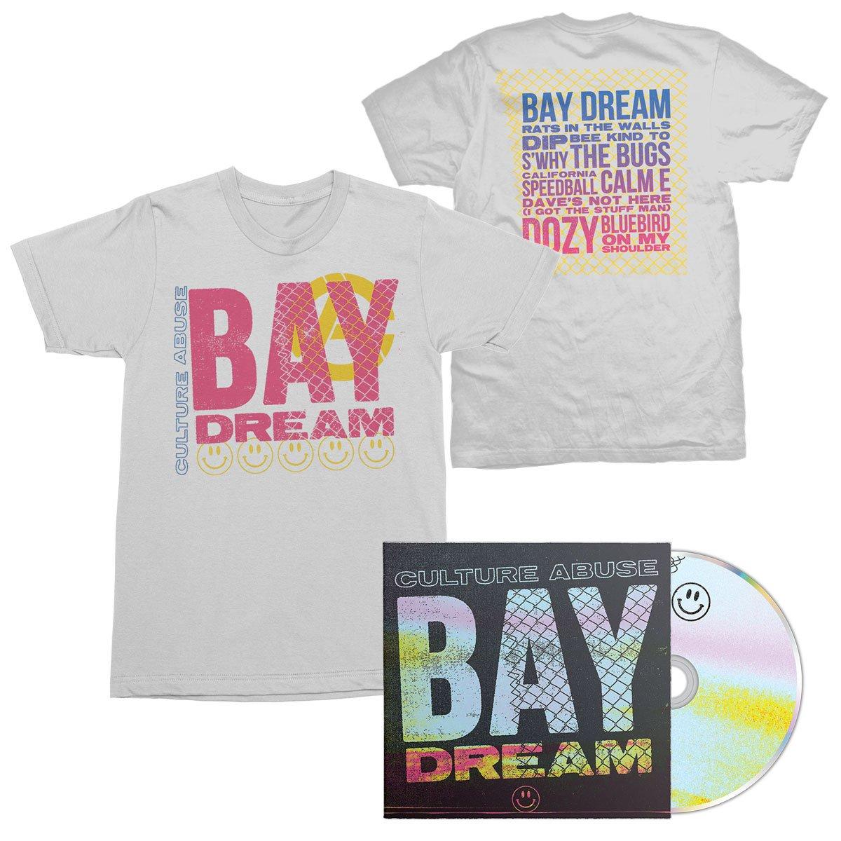 IMAGE | Bay Dream CD + Bay Dream Tee (White) Bundle