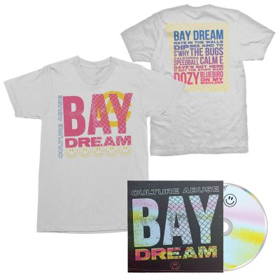 Bay Dream CD + Bay Dream Tee (White) Bundle
