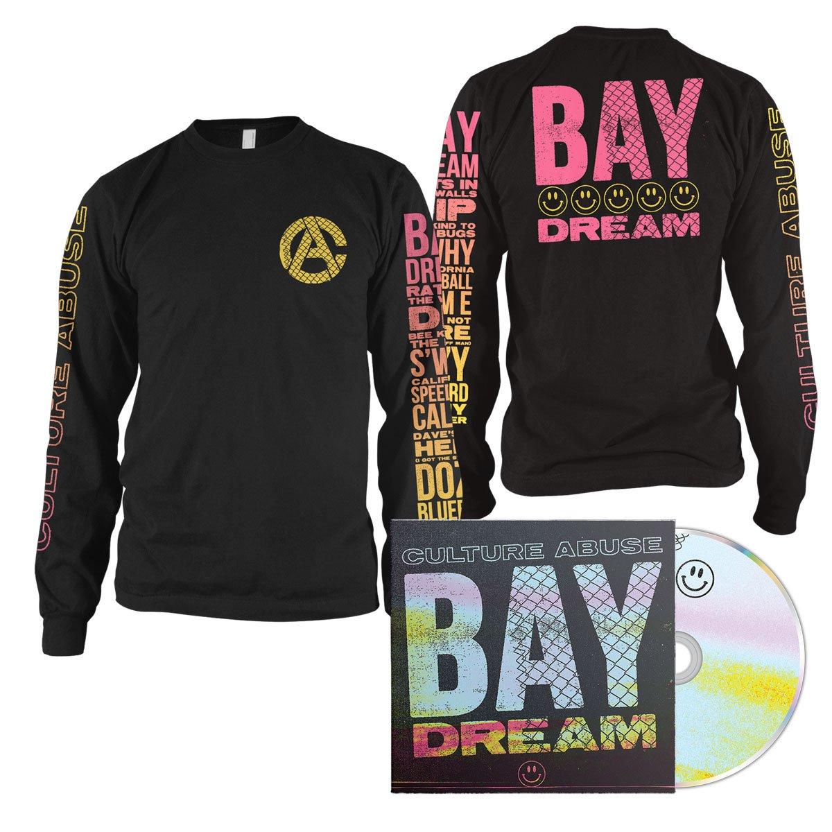 IMAGE | Bay Dream CD + Smile Long Sleeve (Black) Bundle