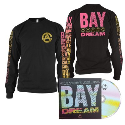 epitaph-records - Bay Dream CD + Smile Long Sleeve (Black) Bundle