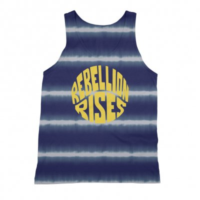 ziggy-marley - Rebellion Rises Blue/White Tank (Unisex)