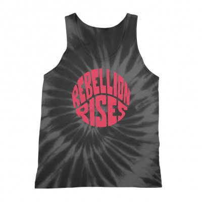 ziggy-marley - Rebellion Rises Grey/Black Tank (Unisex)