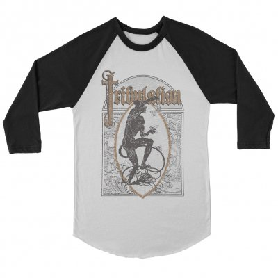 tribulation - Lord of Flies Raglan (White/Black)