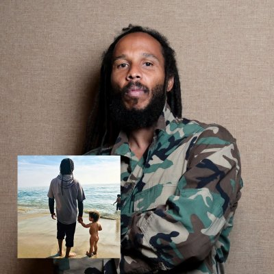 ziggy-marley - Rebellion Rises CD + Custom Embroidered Tuff Gong Worldwide Army Jacket (Camo) Bundle