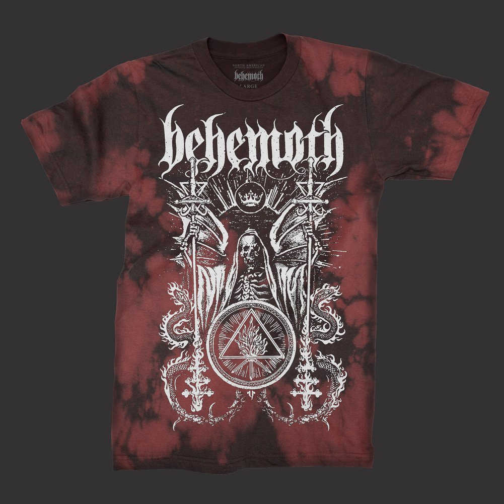 IMAGE   Ceremonial Bloodlet T-Shirt (Red Tye Die)