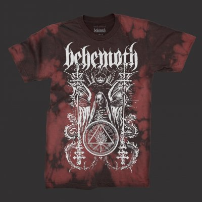 behemoth - Ceremonial Bloodlet T-Shirt (Red Tye Die)