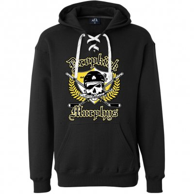 dropkick-murphys - Jolly Roger Hockey Hoodie (Black)
