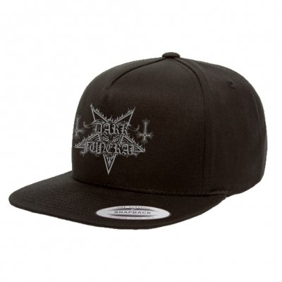 dark-funeral - Embroidered Logo Snap Back (Black)