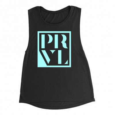 i-prevail - Pristine Logo Womens Muscle Tank Top (Black)
