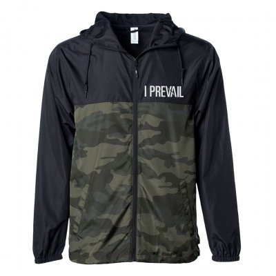 i-prevail - Paneled Camo Windbreaker