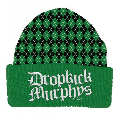 dropkick-murphys - Argyle Beanie (Green)