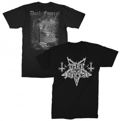 dark-funeral - 2018 North American Tour T-Shirt (Black)
