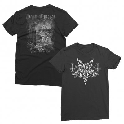 dark-funeral - 2018 North American Tour T-Shirt - Women's (Black)