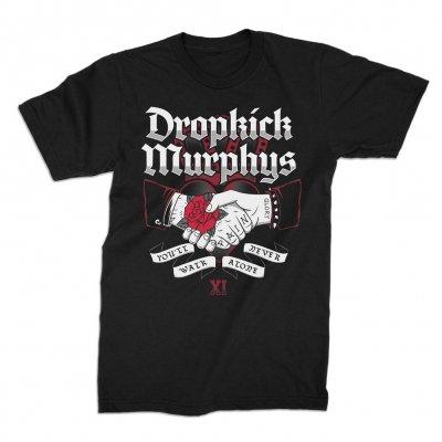 dropkick-murphys - Walk Alone Handshake Tee (Black)