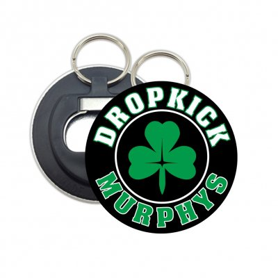 Shamrock Bottle Opener Keychain