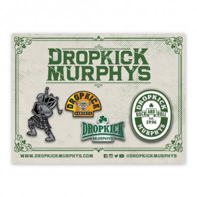 dropkick-murphys - 4 Pin Set (2018)