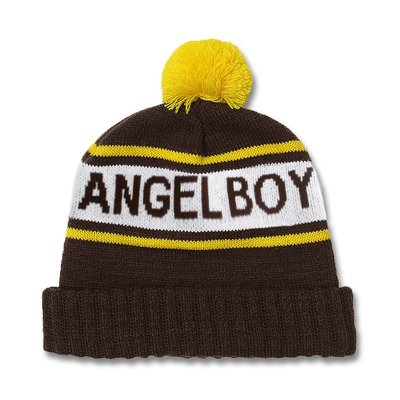 Knitted Angel Boy Beanie