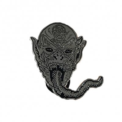 Demon Head Enamel Pin