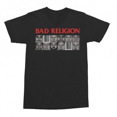 Bad Religion - Gray Race Tee (Black)