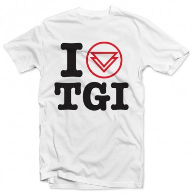 "the-ghost-inside - ""I Heart TGI"" Tee (White)"
