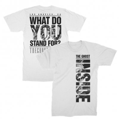 The Ghost Inside - Stand For Tee (White)