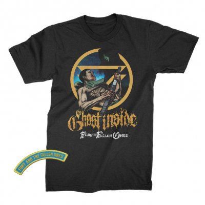 The Ghost Inside - The Fury and the Fallen Ones Album Tee (Black)