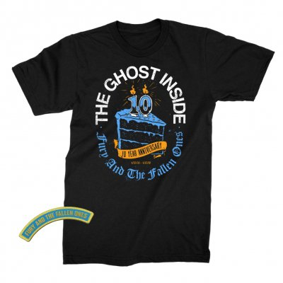 The Ghost Inside - 10 Year Cake Tee (Black)