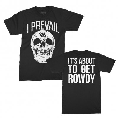 i-prevail - Rowdy Skull Tee (Black)