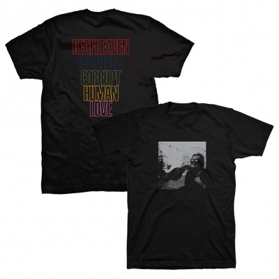 deafheaven - Ordinary Corrupt Human Love Album Tee (Black)