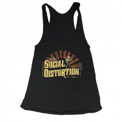 social-distortion - Greetings Women's Tank (Heather Charcoal)