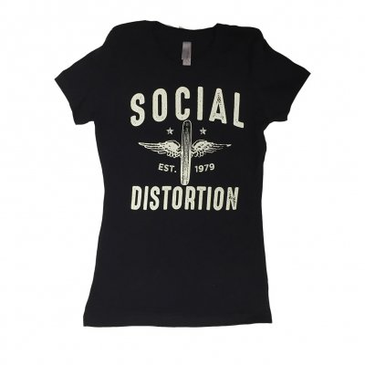 social-distortion - Wheeler Women's T-Shirt (Black)