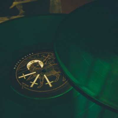 Messe Noire 2xlp Green Behemoth Merch