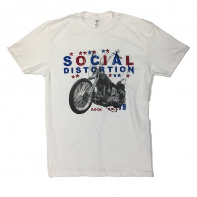 social-distortion - Rock N Roll T-Shirt (White)