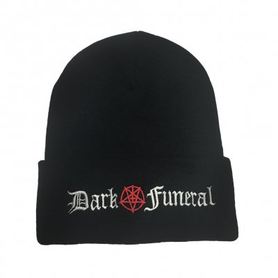 dark-funeral - Pentagram Beanie (Black)