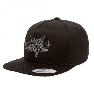 dark-funeral - Embroidered Logo Snap Back (Black)