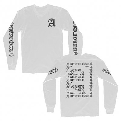 architects - Old English Long Sleeve (White)